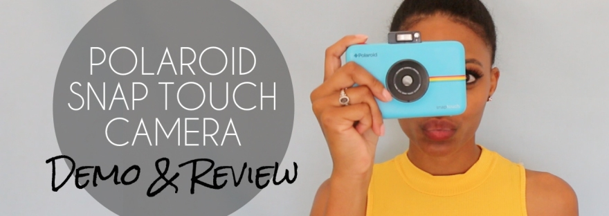 Polaroid Snap Touch Camera Product Demo and Review