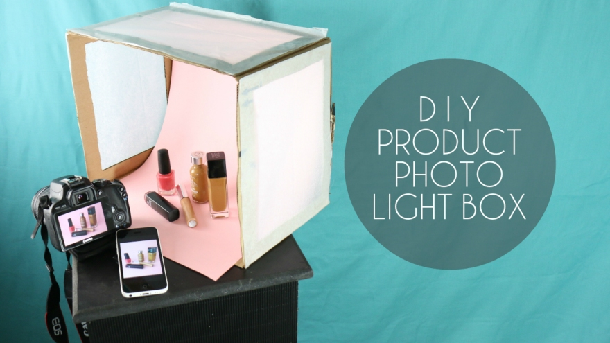 DIY Product Photography Light Box YouTube