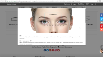 Firmoo pupillary distance