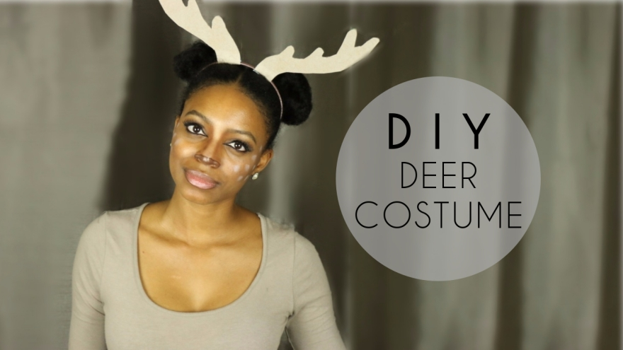 DIY deer costume