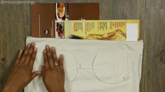 DIY Crop Top Hoodie and Skirt Set No Sewing - Step 3-4