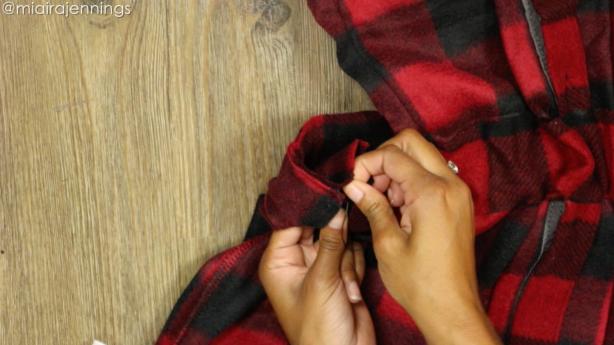 stitch elastic ends